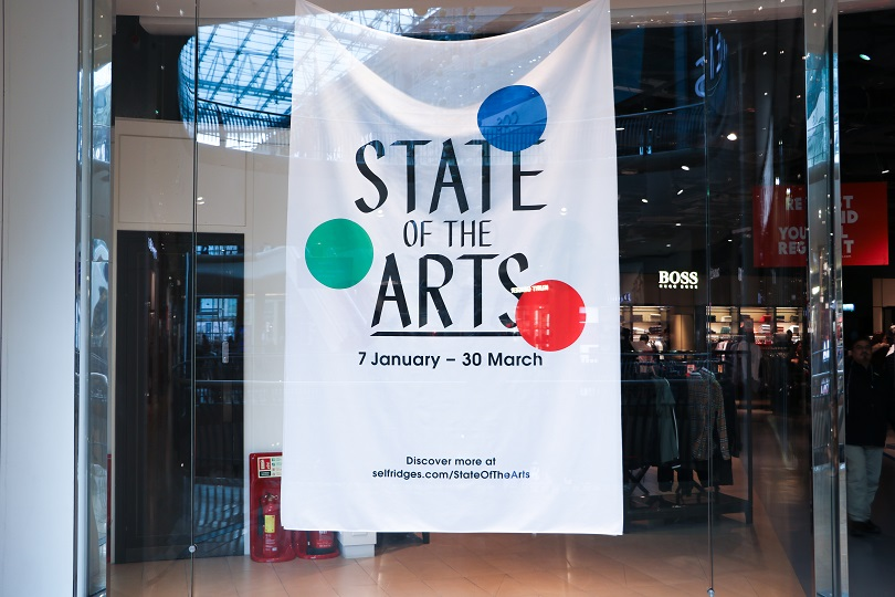 e4be0d1d2d5b Selfridges teams up with Ikon Gallery to reveal State of the Arts ...