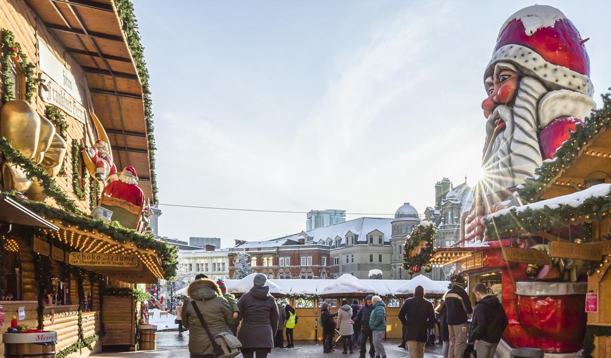 Christmas Markets In Germany 2019 Dates.Birmingham Frankfurt Christmas Market Visit Birmingham