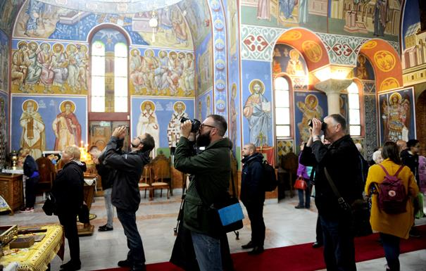 Bournville Heritage Open Day at the Serbian Orthodox Church of St Lazar