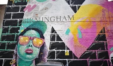 Graffiti Art of Digbeth Walk