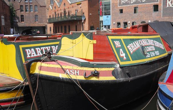 Centenary Square and Birmingham Canals Virtual Walking Tour gas st basin
