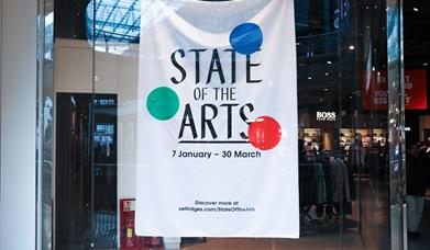 Selfridges teams up with Ikon Gallery to reveal State of the Arts