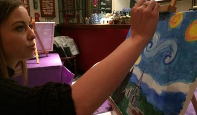 PopUp Painting – We had a Gogh