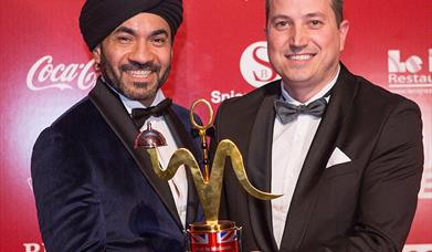 Pushkar wins Best Restaurant in the Midlands at the 2018 British Curry Awards