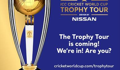 ICC Cricket World Cup Trophy Tour, Driven by Nissan, to undertake 100-day tour of England and Wales