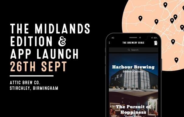 The Brewery bible Midlands Edition Launch Event