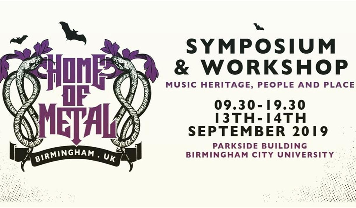 Home of Metal Symposium: Music heritage, people and place