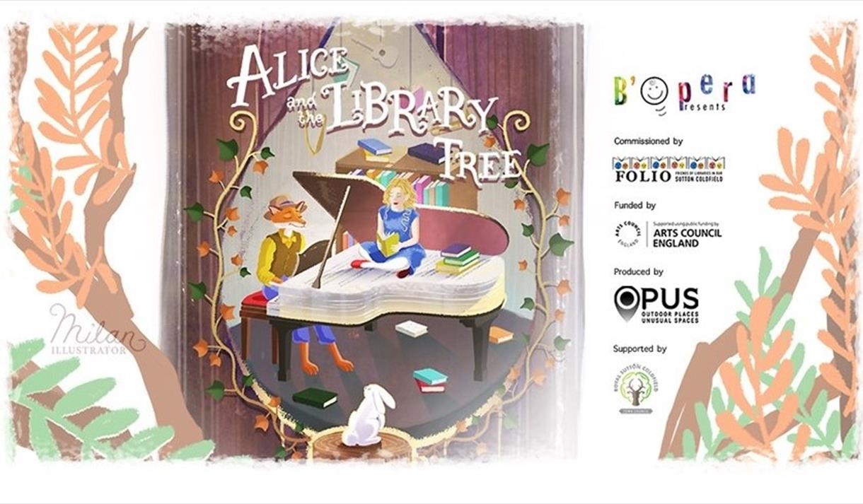 Alice and the Library Tree banner