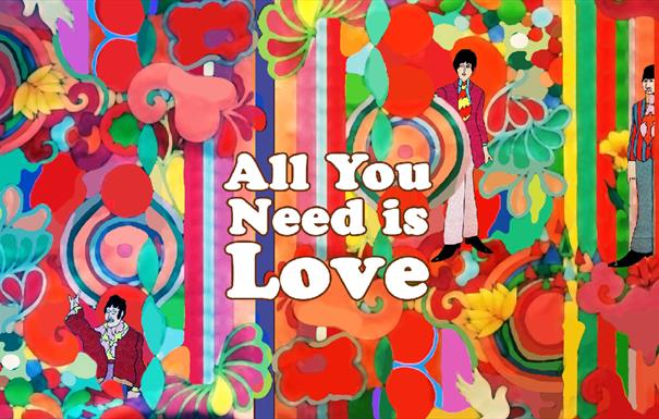 Beatles All You Need Is Love Session