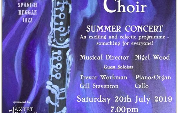 Bournville Clarinet Choir Summer Concert