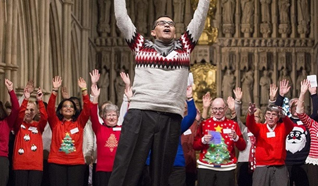 Carols at Christmas in support of Alzheimer's Society