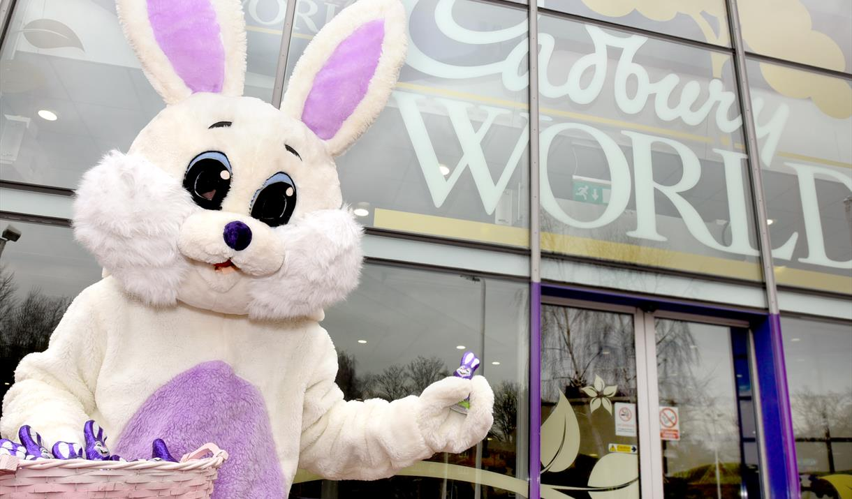 Egg-citing surprises at Cadbury World