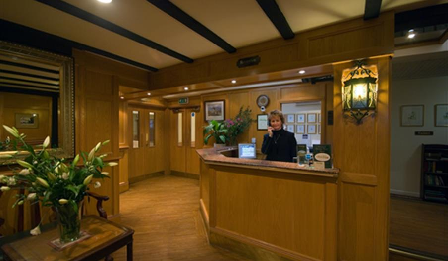 Grimstock Country House Hotel - reception