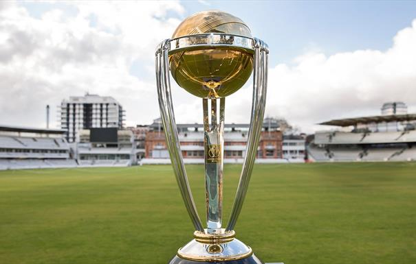ICC Cricket World Cup Trophy Tour, driven by Nissan