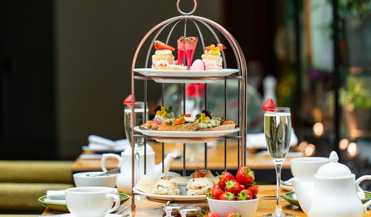 Afternoon tea at Aria