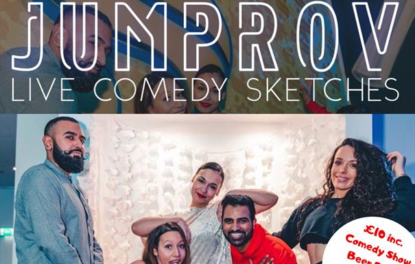 Jumprov at Birmingham Comedy Festival