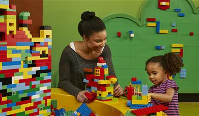 Visit both LEGOLAND Discovery Centre Birmingham & The National SEA LIFE Centre Birmingham for just £24!