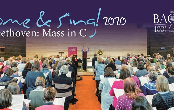 Come and Sing! with Birmingham bach Choir: Beethoven Mass in C