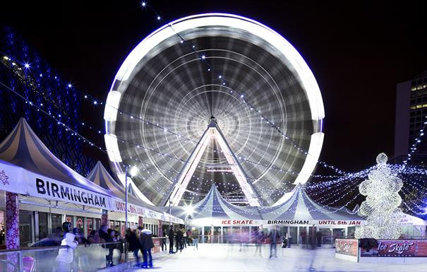 The Big Wheel & Ice Rink