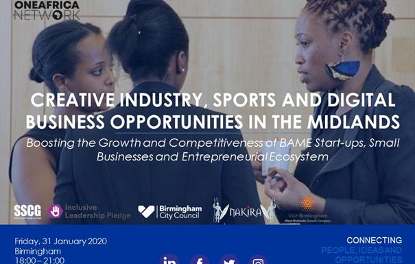 Creative Industry, Sports and Digital Businesses in the Midlands