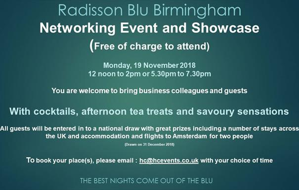 Radisson Blu Birmingham Executive Showcase