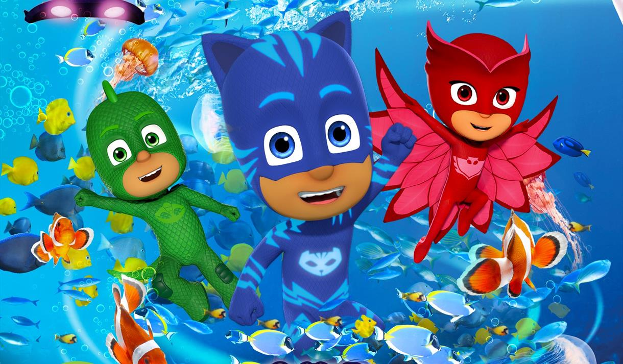PJ Masks at Sea Life Birmingham