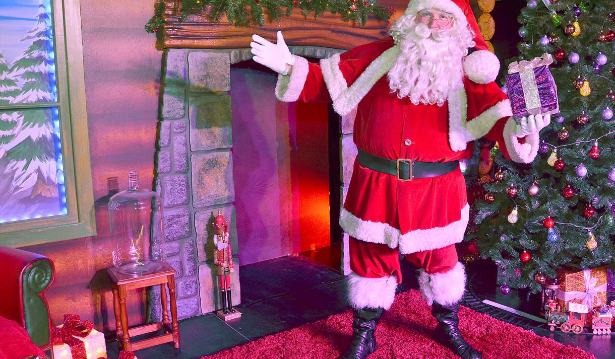 Magical festive fun at Cadbury World