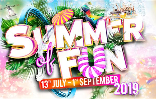 Summer of Fun at Drayton Manor