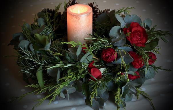 Christmas Table Centre Piece Workshop