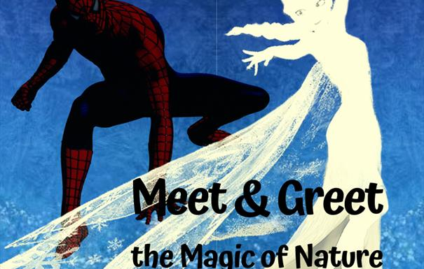 Elsa and Spiderman - the Magic of Nature