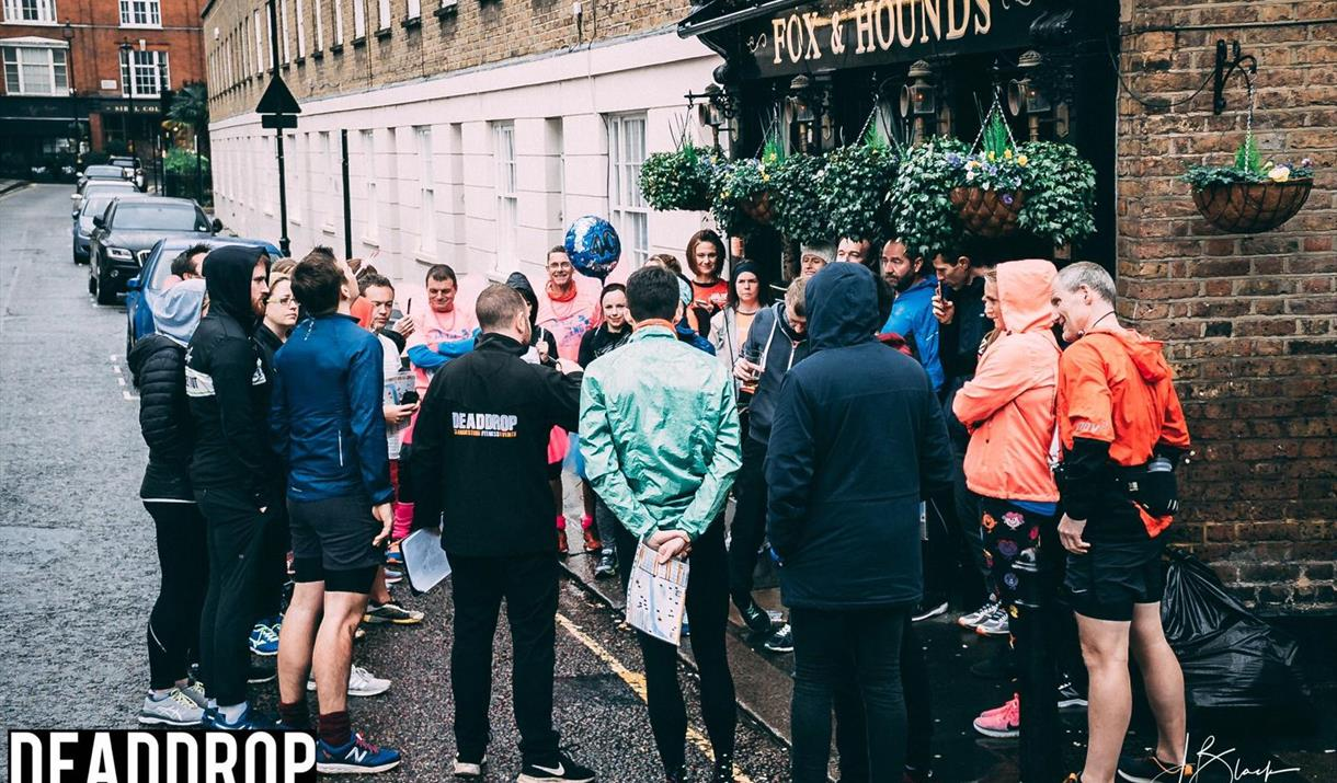 DeadDrop Spy Run Participants