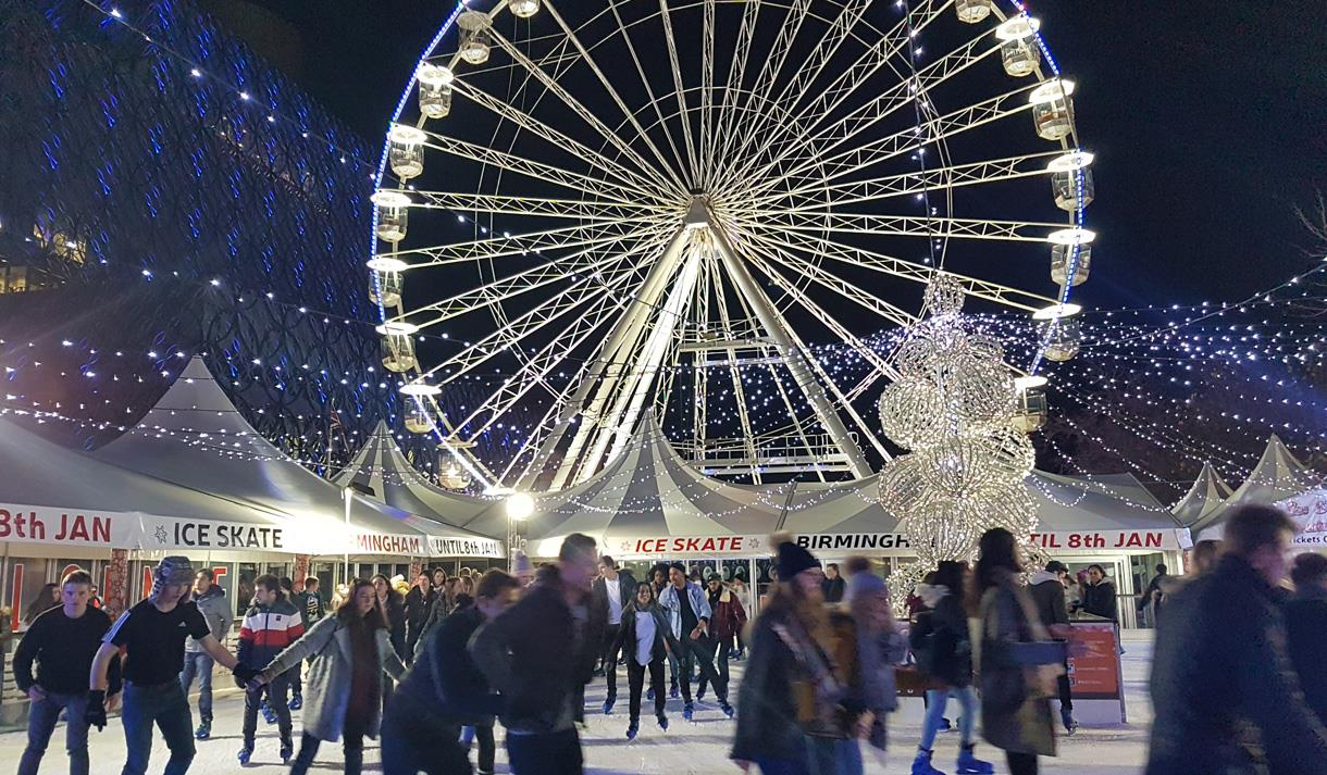 Big Wheel and Ice Skate Birmingham