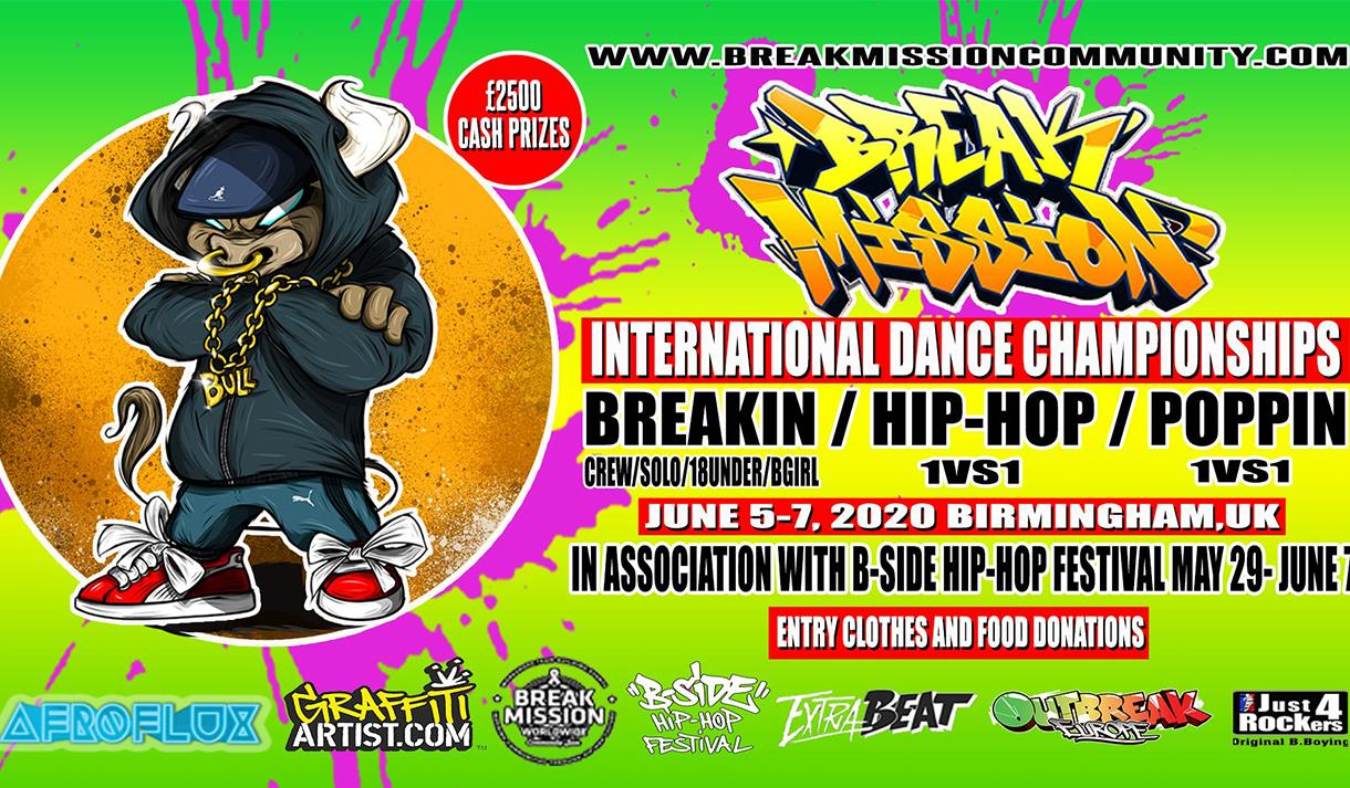 Break Mission X B-Side Hip Hop Festival