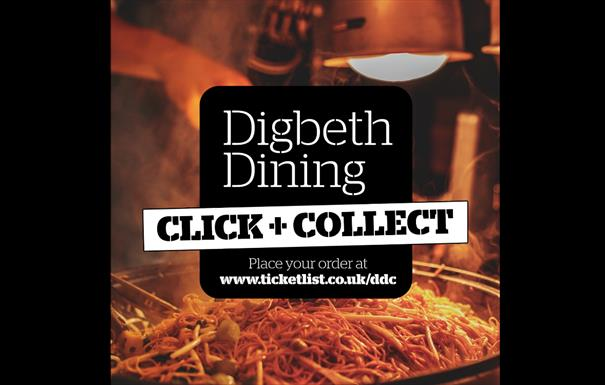Digbeth Dining Club click and collect service