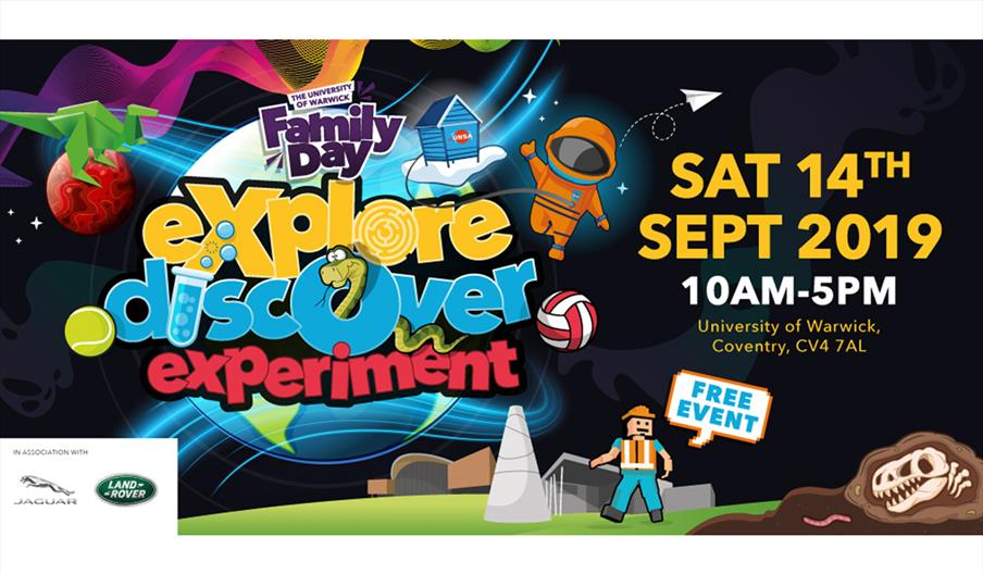 Family Day: explore, discover, experiment