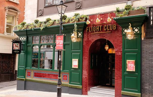 Flight Club Birmingham Exterior