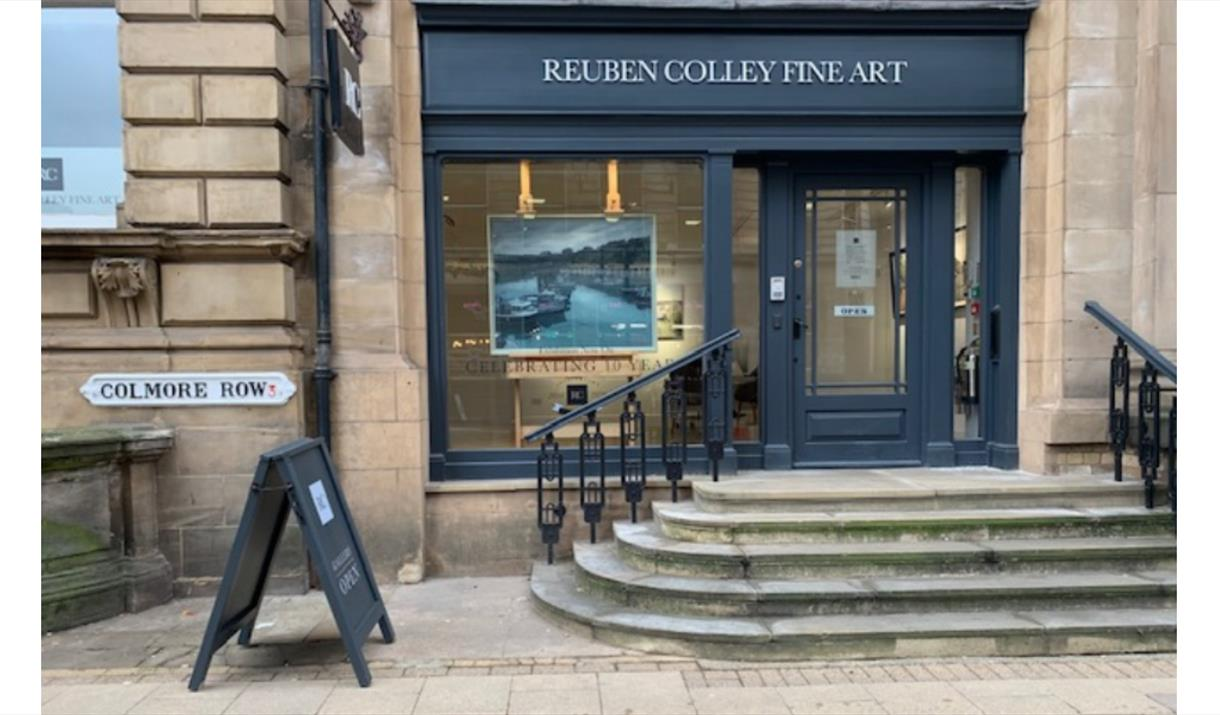 Reuben Colley Fine Art Gallery - 10th Anniversary Exhibition
