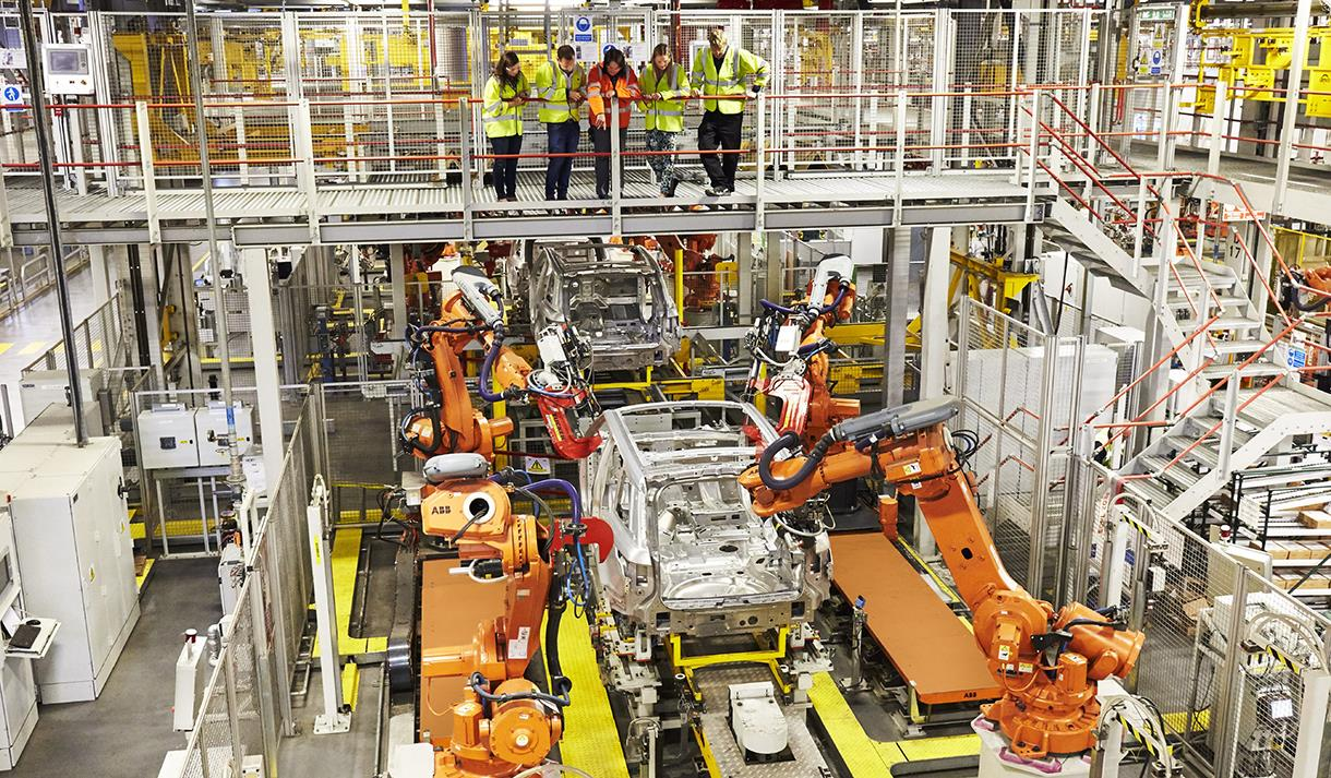 Land Rover Manufacturing Tour Solihull