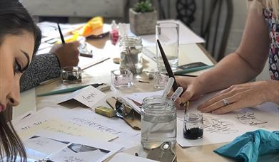 Birmingham: Beginners Modern Calligraphy Pointed Nib Workshop - Evening
